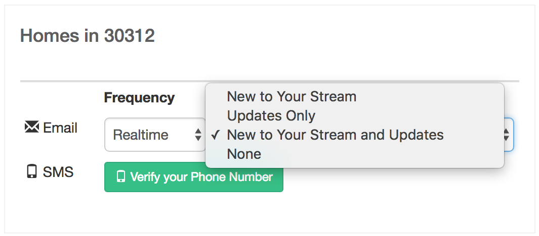 Cloud Streams listing alerts are real estate tools for buyers.