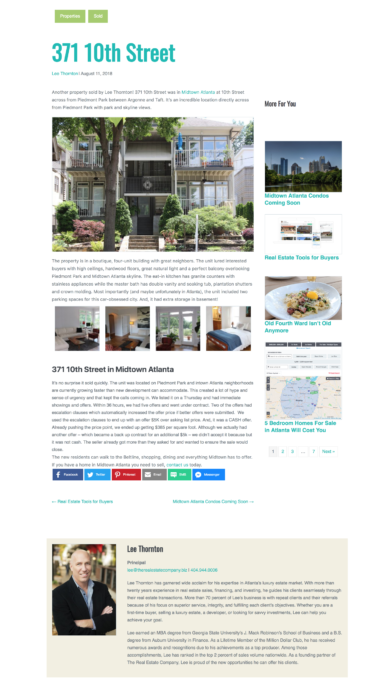 Real Estate Website Improvements - Agent Badges
