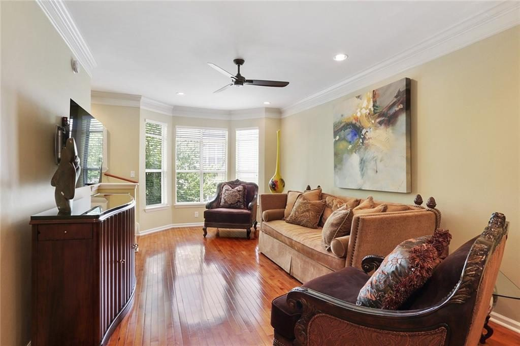 375 Highland Avenue - Living Room
