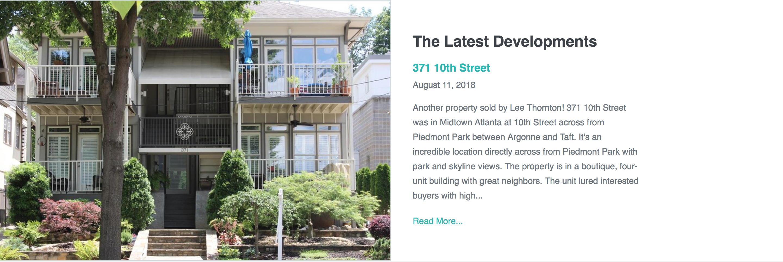 Real Estate Website Improvements - Latest Developments