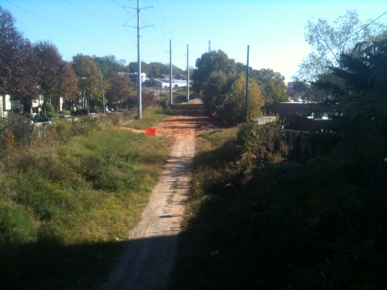 The railroad corridor after being trasformed into the Atlanta Beltline.