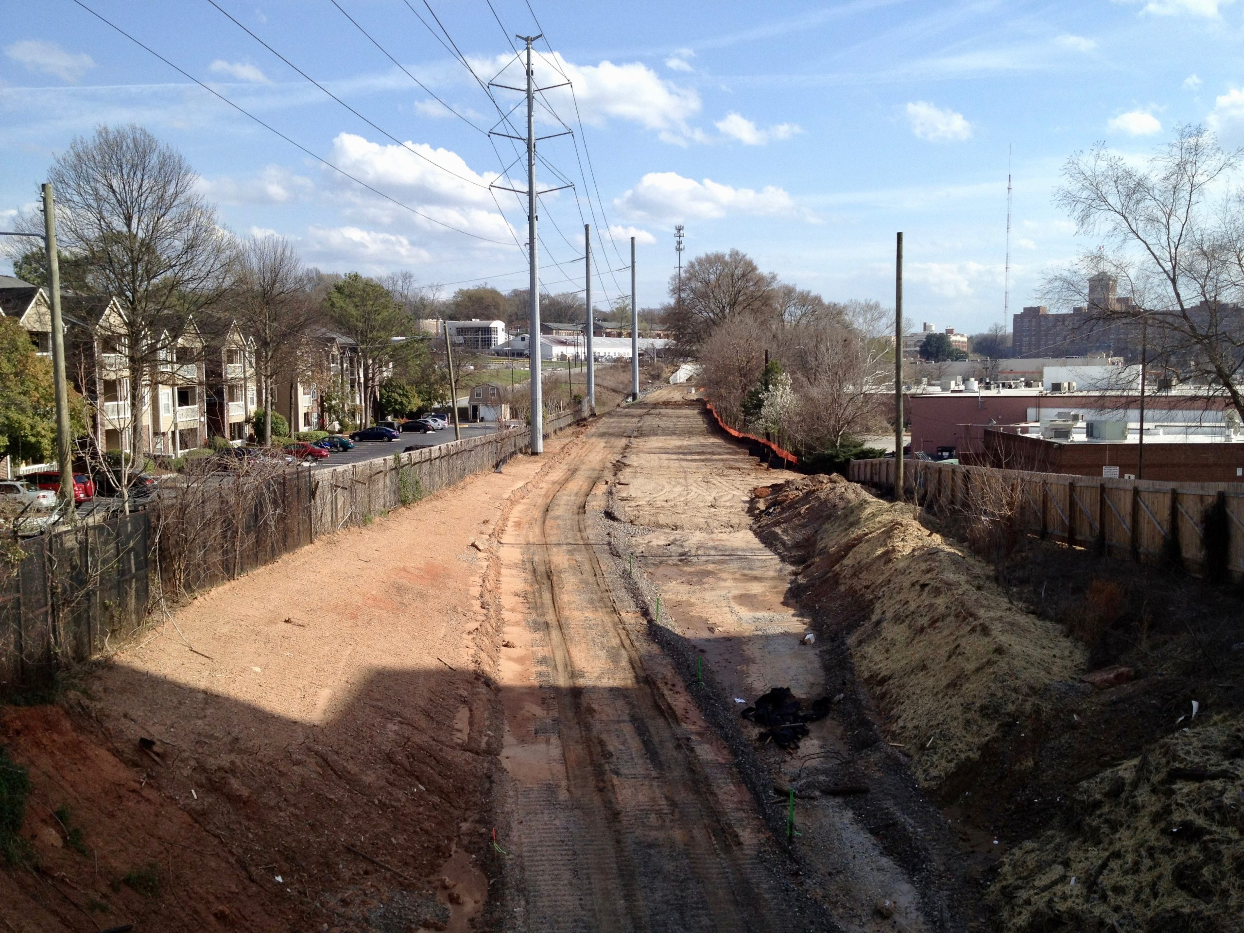 Adopt the Atlanta Beltline: The Real Estate Company volunteers in 2011.