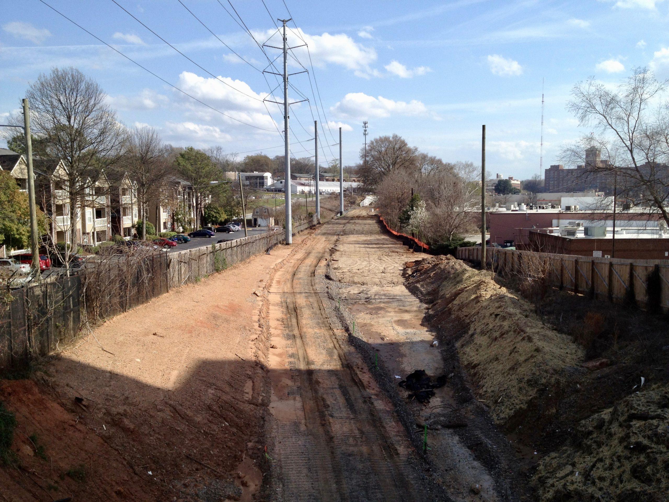 Adopt the Atlanta Beltline: The Real Estate Company volunteers in 2011.