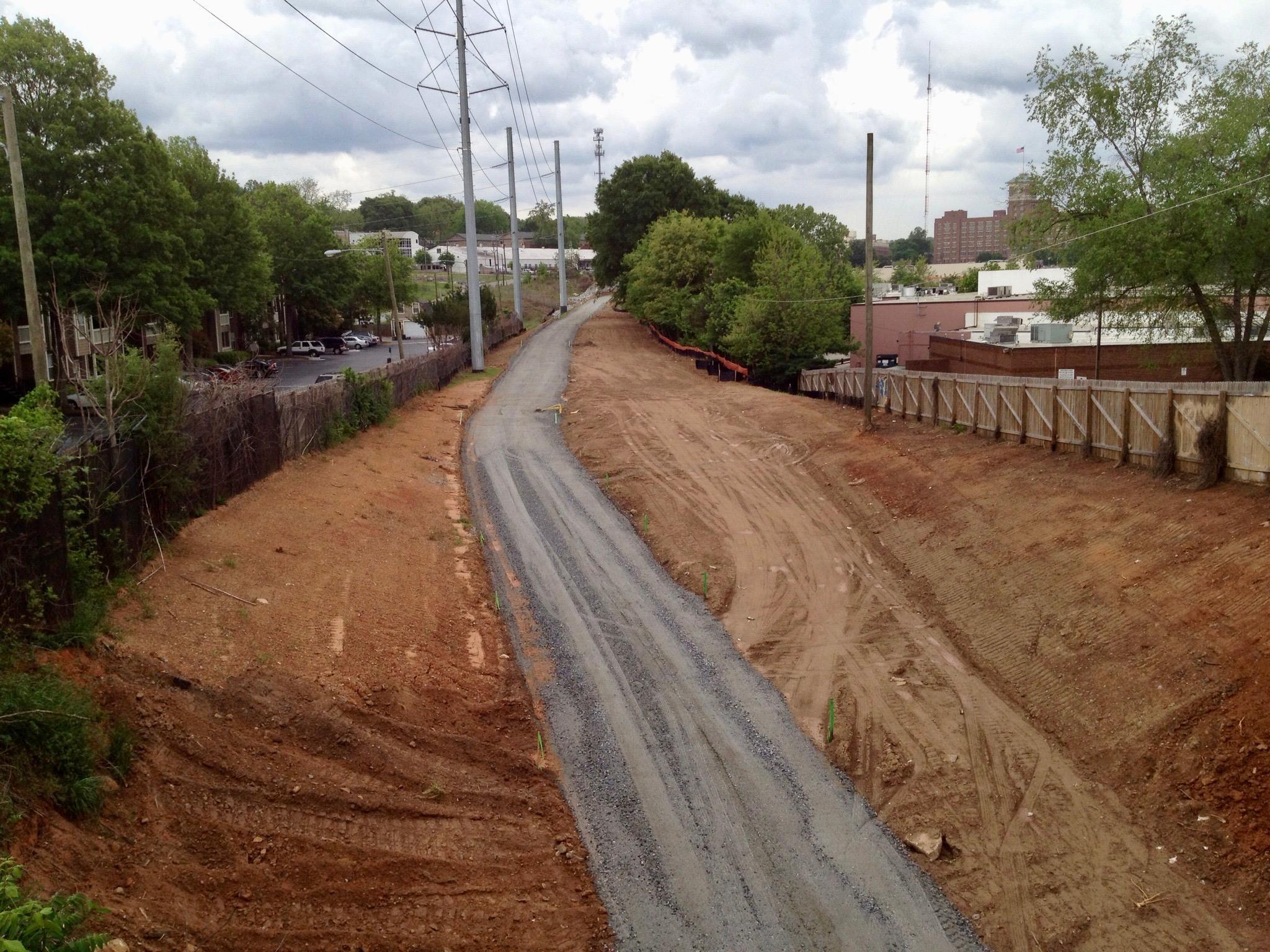 Adopt the Atlanta Beltline: The Real Estate Company volunteers in 2012.